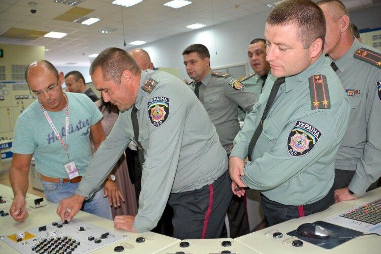Державні виконавці переконалися: захищеність Рівненської АЕС – на високому рівні (Фото)