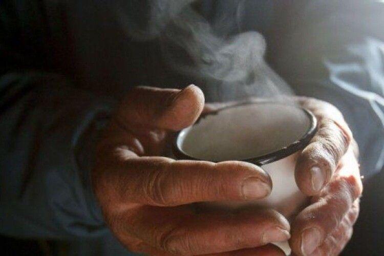 У місті на Волині 60 людей відпоїли чаєм з печивом в лютий мороз