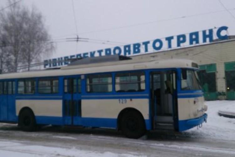 У Рівному 7 тролейбусів готують до списання