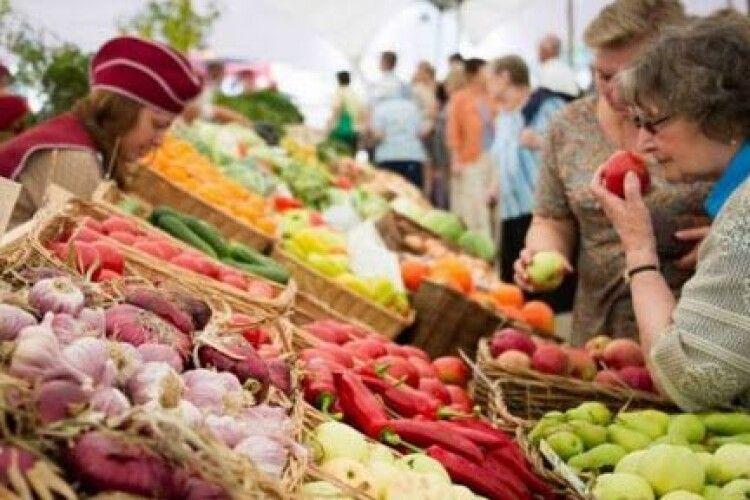 Ярмарок сільськогосподарської продукції в Любешові поки що не проводитимуть