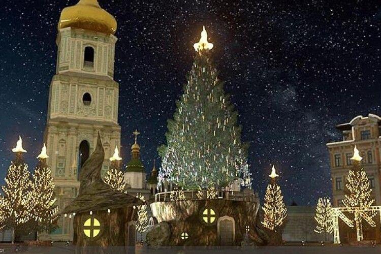 Цього року на головній ялинці України буде не зірка, а капелюх
