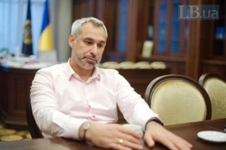 Рябошапка визнав, що доказів у справі Шеремета недостатньо