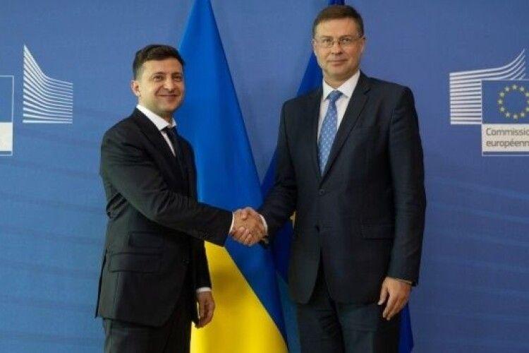 Україна готова виконати вимоги ЄС для отримання півмільярда євро допомоги