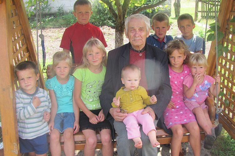 У найбагатшого дідуся Волині –  212 нащадків!