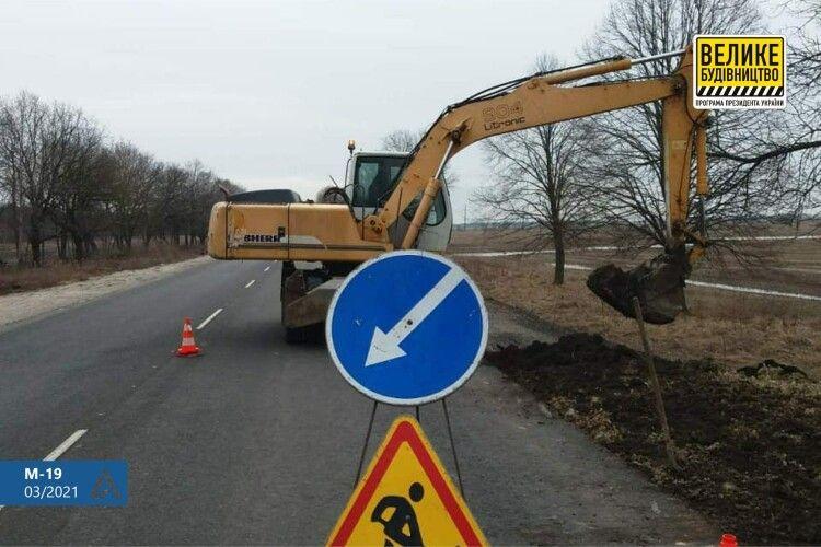 Водіїв попередили про обмеження на волинській трасі
