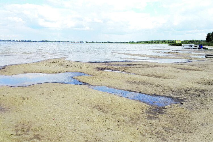 SOS: найглибше озеро України Світязь катастрофічно обміліло (Відео)