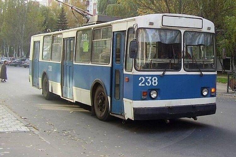 У Луцьку курсуватимуть лише безбар'єрні тролейбуси