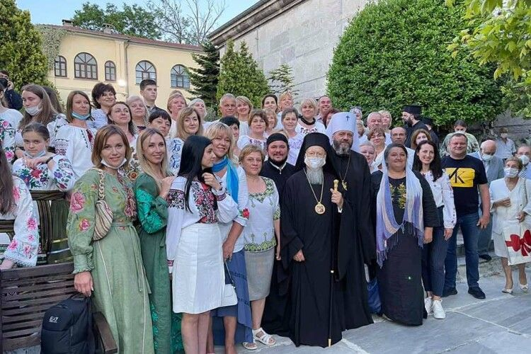 Волиняни у Стамбулі привітали Вселенського патріарха з Днем ангела