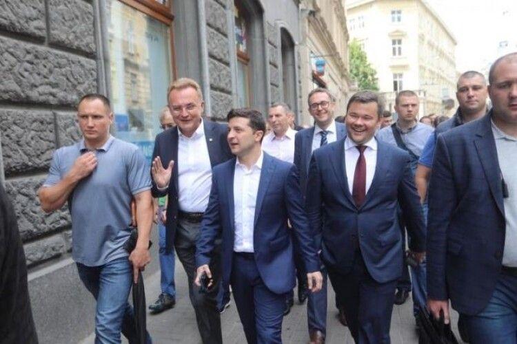 На Львівщину їде Зеленський. А на Волинь?