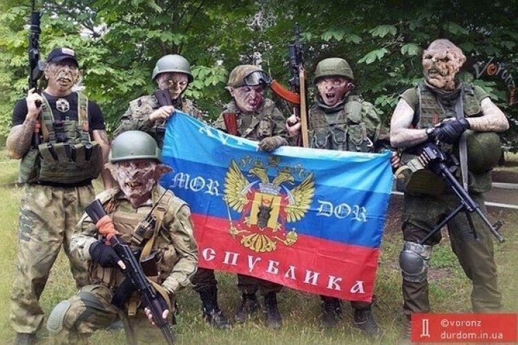 В ЛуганДонії набухана окупаційна «вата», святкуючи день НЕдореспубліки, підірвалася на власній протитанковій міні