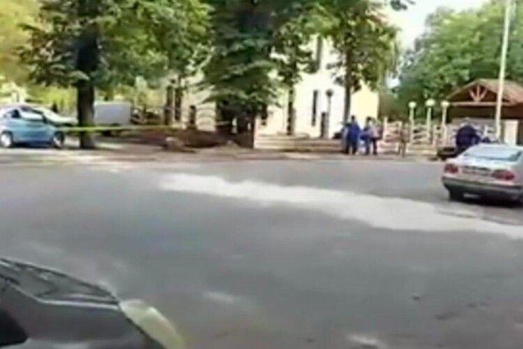 Затримали нападника, який захопив відділення «Банку Грузії» у Кварелі