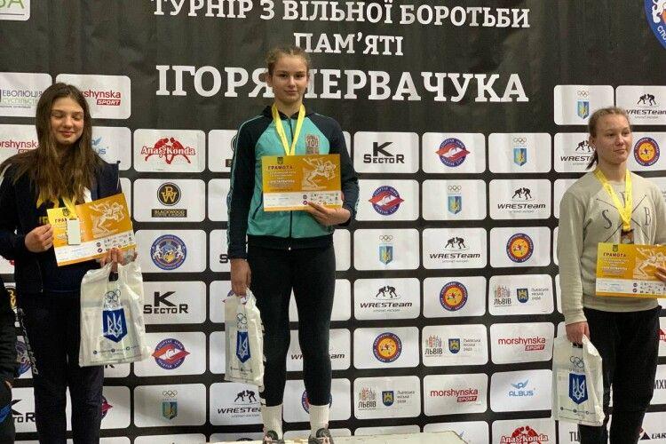 Волинянка здобула перемогу на престижному міжнародному турнірі з вільної боротьби