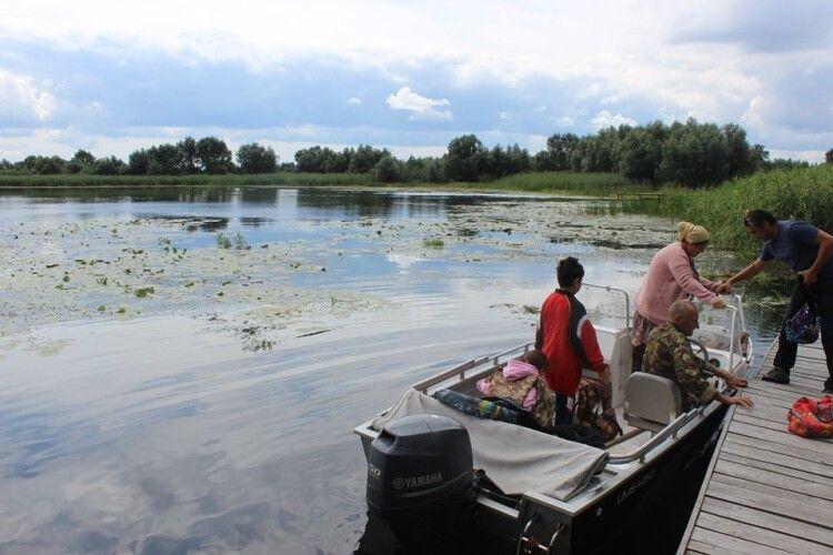 Водний маршрут «Чарівний світ Полісся» привабив туристів зі столиці