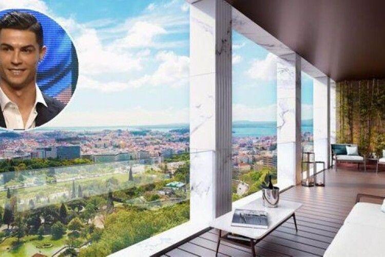 Роналду купив будинок за понад 7 мільйонів євро у місті, де хоче завершити кар'єру (Фото)