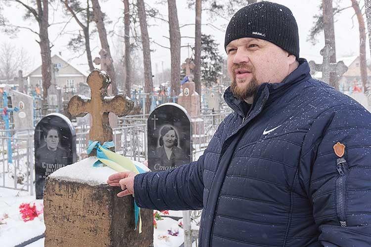 Навіть совєти незнищили уЦумані пам'ятник ізтризубом, встановлений ще у1920–х