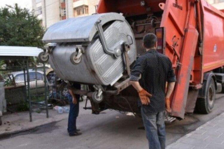 У Луцьку будуть нові сміттєвози