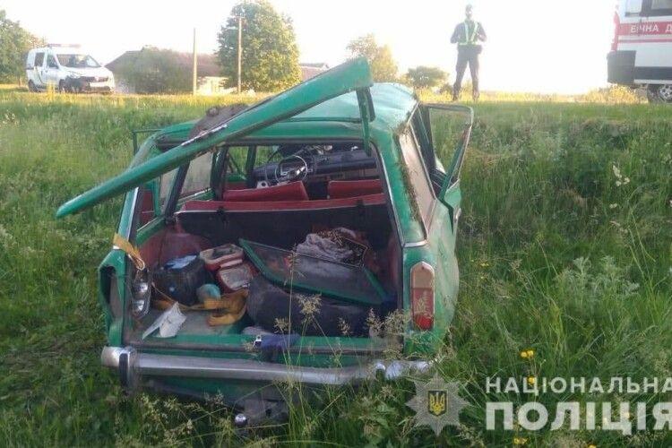 У ДТП на Волині постраждало п'ятеро людей (Фото)