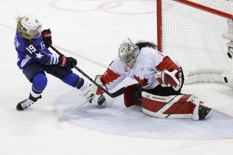 Американки не дозволили канадійкам вшосте поспіль стати олімпійськими чемпіонками з хокею