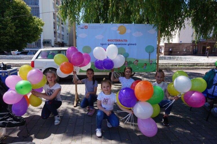 У Луцьку відбувся «Фестиваль ідей для дозвілля дітей» (ФОТО)