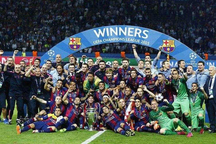 «Барселону» визнали найкращим футбольним клубом за підсумками десятиліття