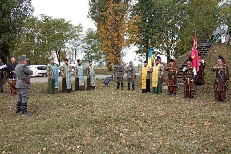 У Несвічі військові капелани відслужили молебень за Батьківщину (фото)
