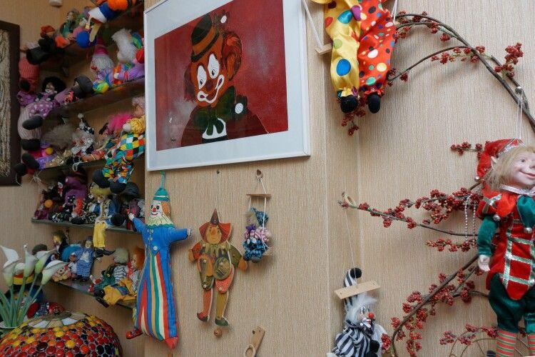 Колекція клоунів, якій поклав початок пам'ятний сувенір з Німеччини.