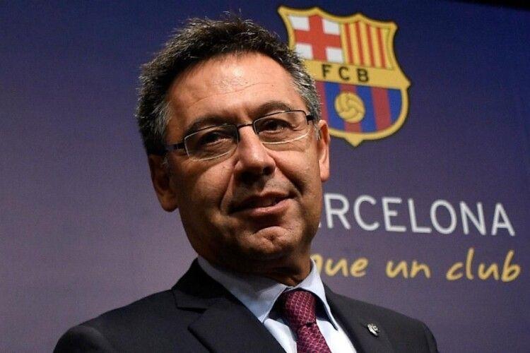 Президент «Барселони» подав у відставку