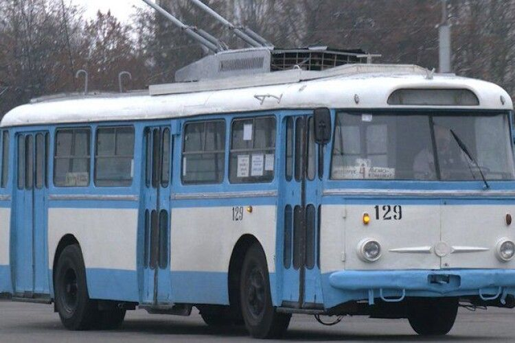 Найстаріший тролейбус – досі на ходу у Рівному
