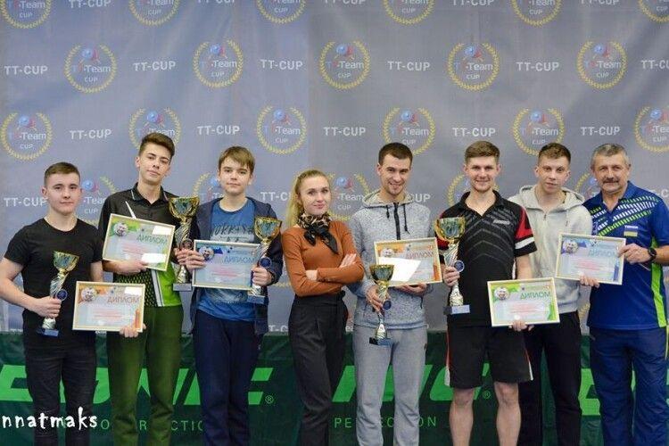 У Луцьку відбувся тенісний турнір пам'яті Олексія Веремійчика