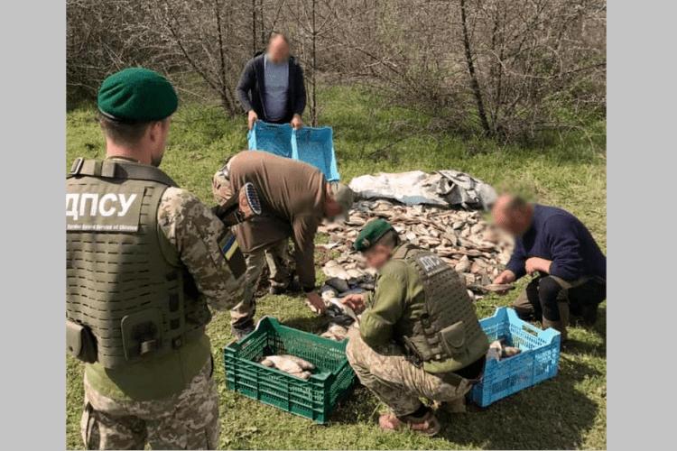 Два браконьєри наловили 600 лящів на 100 тисяч гривень (Фото)