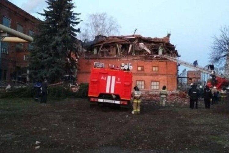 У Росії завалилася стіна ТЕС: під завалами люди