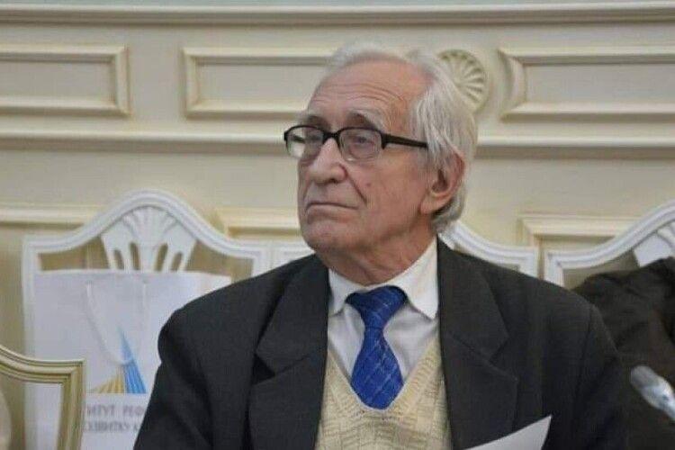 Помер відомий український мовознавець, який був родом з Володимир-Волинського району