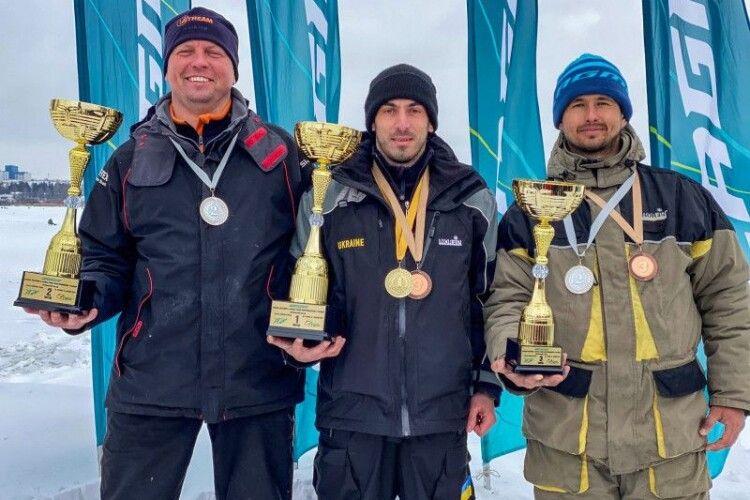 Ковельчанин взяв «бронзу» на Кубку України з ловлі риби
