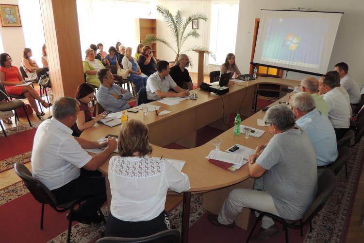У СНУ дебатували про розвиток сільських територій у контексті виконання Угоди про асоціацію «Україна-ЄС» (фото)