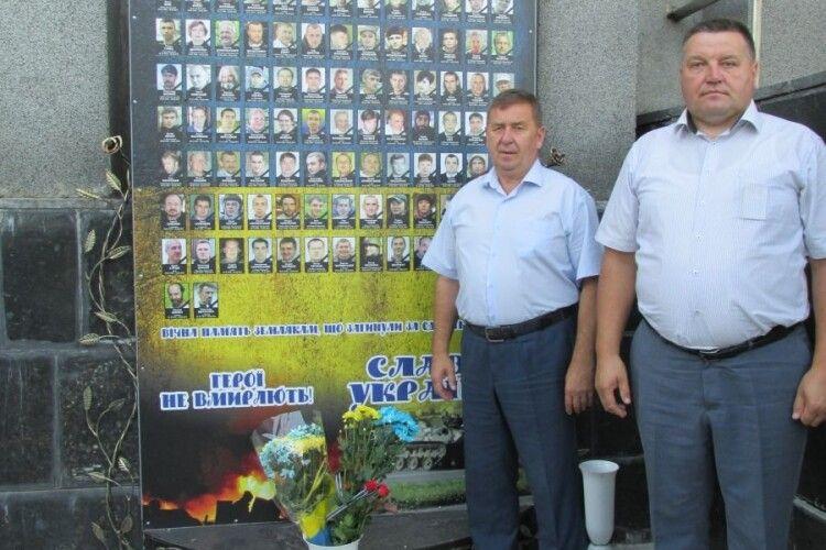 На Камінь-Каширщині вшанували героїв