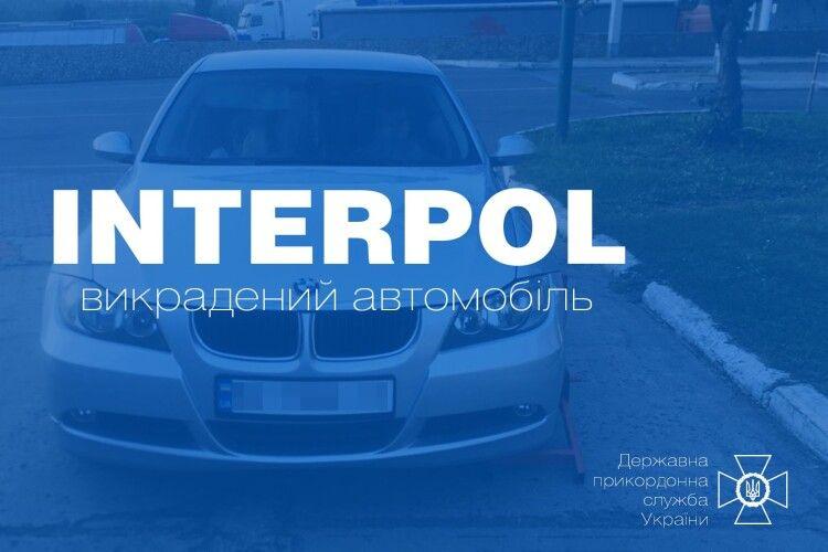 Прикордонники виявили викрадене авто