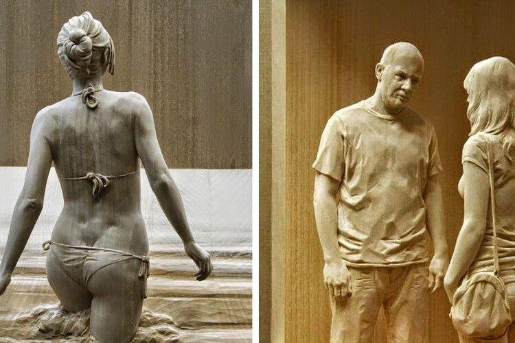 Скульптури нагадають про історичне минуле Володимира