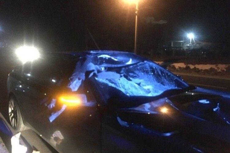 Відомі подробиці смертельної аварії в Гіркій Полонці, в якій розірвало пішохода