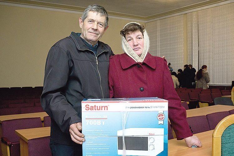 Подарунок передплатнику «Газети Волинь» вручив представник Адміністрації Президента