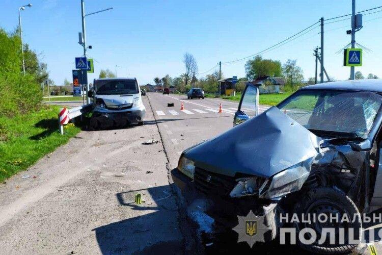 На Рівненщині не розминулися «ВАЗ» і «Opel»