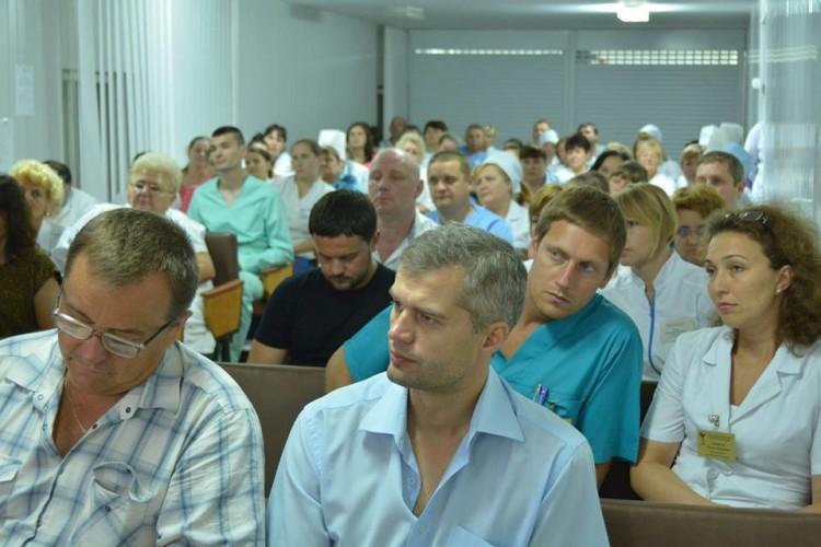 Колектив Волинського онкодиспансеру відзначив 70-літній ювілей