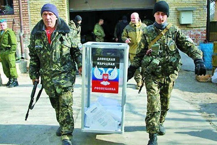 Проведення виборів вОРДЛО під дулами російських автоматів— неприпустиме!