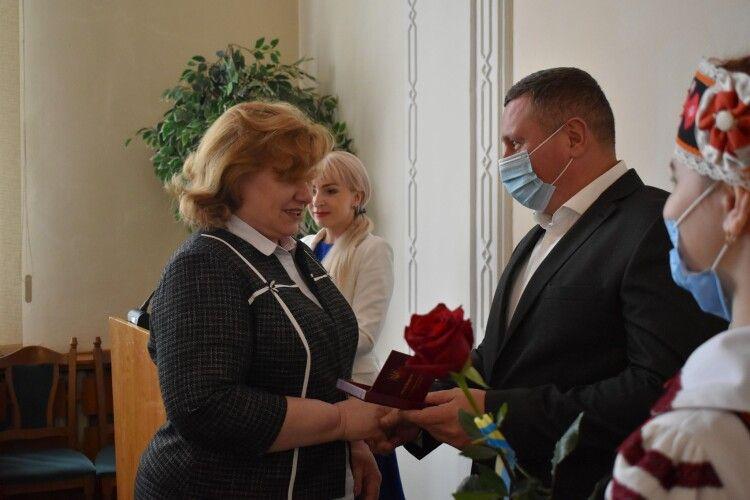 Волиняни отримали високі державні нагороди (Фото)