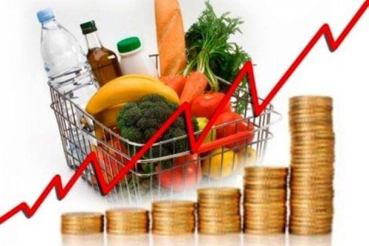 На Волині ціни ростуть не так швидко, як в Україні загалом