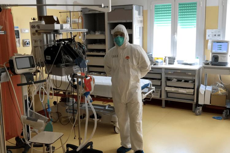 Лучанин - наймолодший медик в українській команді в Італії
