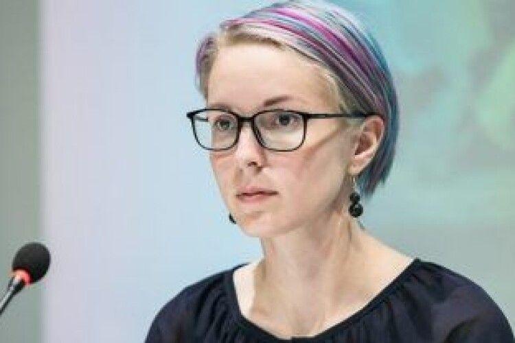 Яна Зінкевич :«Зараз у нас дві передові лінії в Україні»