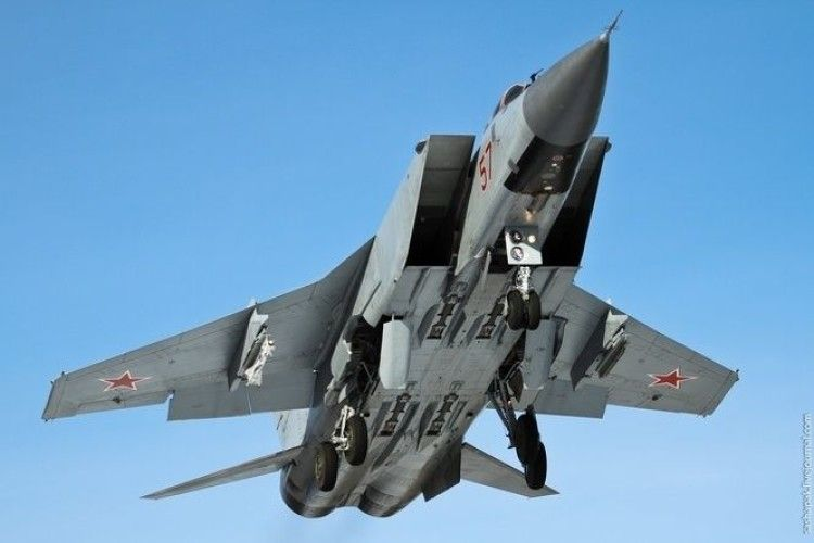 У Росії розбився надзвуковий винищувач-перехоплювач МіГ-31