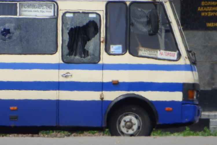 У Луцьку евакуюють місцевих жителів (Відео)