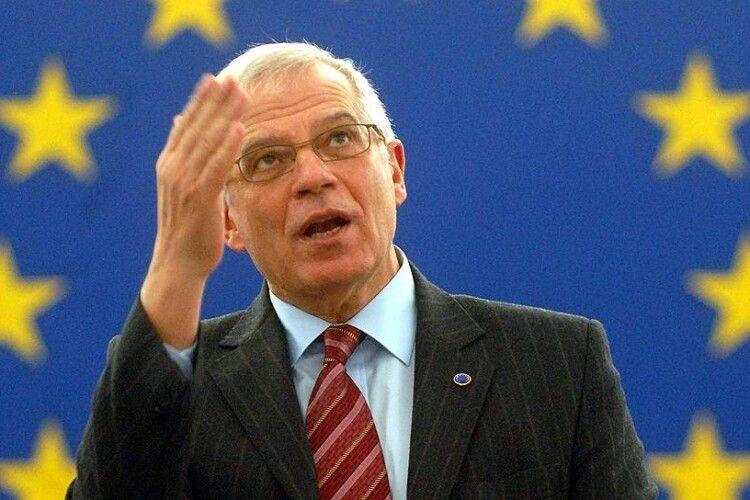 В Україну нарешті приїде очільник дипломатії ЄС Жозеп Боррель