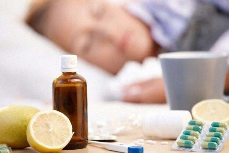 На Волині грип поширюється швидше, ніж в інших областях, особливо – у трьох районах
